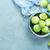 vers · groenten · mand · houten · tafel · metaal · voedsel - stockfoto © tycoon