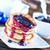 pannenkoeken · jam · plaat · tabel · voedsel · hot - stockfoto © tycoon