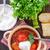 russo · isolado · branco · decorado · salsa · tradicional - foto stock © tycoon