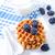 sorvete · waffle · cesta · dois · morango · fresco - foto stock © tycoon