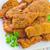 plaka · et · hızlı · yemek · yemek · makro - stok fotoğraf © tycoon
