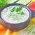 nyár · hideg · leves · zöldségek · étel · tojás - stock fotó © tycoon