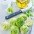 oude · glazuur · kom · bloemkool · broccoli · achter - stockfoto © tycoon
