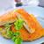 caseiro · carne · fresco · salada · prato · verde - foto stock © tycoon