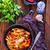 vlees · groenten · schaal · voedsel · zomer · diner - stockfoto © tycoon