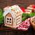 имбирь · Cookies · Рождества · таблице · счастливым · фон - Сток-фото © tycoon