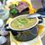 soep · houten · tafel · voedsel · keuken · tabel · vlees - stockfoto © tycoon