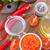 トマトソース · スパイス · チーズ · トマト · 調理 · ニンニク - ストックフォト © tycoon