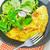 salade · spek · basilicum · gezonde · vegetarisch · witte - stockfoto © tycoon