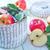 新鮮な · リンゴ · ケーキ · クリーム · チーズ · デザート - ストックフォト © tycoon