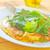szynka · pomidorów · zielone · Sałatka · jedzenie - zdjęcia stock © tycoon