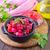 aardappelsalade · vers · komkommer · komkommers · radijs · voedsel - stockfoto © tycoon