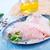 alho · metal · colher · de · chá · isolado · branco · comida - foto stock © tycoon