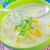 soep · geserveerd · brood · rollen · kom - stockfoto © tycoon