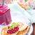 krep · kızılcık · şurup · sos · akçaağaç · tereyağı - stok fotoğraf © tycoon