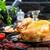 grillezett · egész · tyúk · zöld · kövér · szabad - stock fotó © tycoon