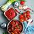 kerrie · ketchup · saus · worstjes - stockfoto © tycoon