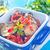 patlıcan · biber · yeme · domates · pişirme - stok fotoğraf © tycoon
