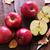 decoratie · appels · twee · Rood · christmas · star - stockfoto © tycoon