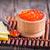 salmone · caviale · rosso · ciotola · tavola · alimentare - foto d'archivio © tycoon