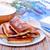 panquecas · casa · de · campo · nata · tabela · queijo · jantar - foto stock © tycoon