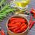 çili · zeytinyağı · beyaz · ışık · cam · zeytin - stok fotoğraf © tycoon