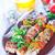 kebab · alimentare · sfondo · ristorante · verde · pollo - foto d'archivio © tycoon