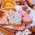 自家製 · クッキー · シナモン · 孤立した · 白 · 背景 - ストックフォト © tycoon