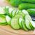 sózott · uborka · fokhagyma · fából · készült · nyár · zöld - stock fotó © tycoon