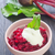 salade · saladeschaal · tabel · achtergrond · Rood · plant - stockfoto © tycoon