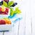 vers · bessen · heerlijk · geserveerd · kom · vruchten - stockfoto © tycoon