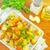 patates · domuz · pastırması · tablo · yeşil · siyah - stok fotoğraf © tycoon