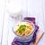 puding · tál · asztal · étel · üveg · háttér - stock fotó © tycoon