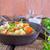 frango · couve-flor · cenoura · brócolis · comida · restaurante - foto stock © tycoon