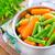 zanahoria · ejotes · salud · verde · Asia · estilo · de · vida - foto stock © tycoon