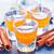 laranja · pequeno · óculos · tabela · festa - foto stock © tycoon