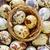 ovos · prato · rústico · mesa · de · madeira · páscoa - foto stock © tycoon