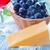 különböző · gabonafélék · kék · fa · asztal · iskolatábla · keret - stock fotó © tycoon