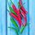 kırmızı · biber · biber · mavi · taze · gıda · doğa - stok fotoğraf © tycoon