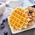 ワッフル · 食品 · ミルク · デザート · 食べる · スプーン - ストックフォト © tycoon