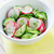 fresh salad with cucumber and radish stock photo © tycoon