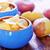 batatas · fritas · tabela · textura · laranja · rápido - foto stock © tycoon