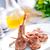 sült · kotlett · hús · fűszer · asztal · étel - stock fotó © tycoon