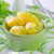 boiled potato in green bowl stock photo © tycoon