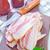 szeletek · füstölt · szalonna · fotó · lövés · konyhaasztal - stock fotó © tycoon