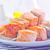 salmão · quibe · textura · comida · peixe · vermelho - foto stock © tycoon