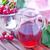 cereja · suco · vidro · tabela · fundo · verão - foto stock © tycoon