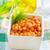 bab · kukorica · saláta · chili · három · finom - stock fotó © tycoon