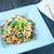 frito · arroz · salsa · cerdo - foto stock © tycoon