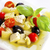 fromage · cottage · salade · fraise · mandarin · oranges · feuille - photo stock © tycoon
